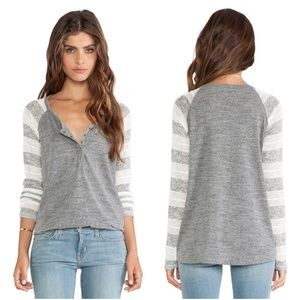 Splendid | Rugby Pointelle Loose Knit Henley